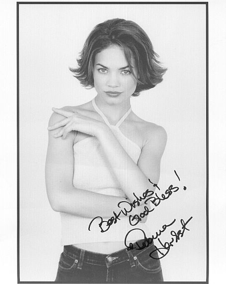 Rebecca Herbst Autographed Pic!